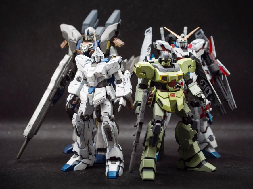 Bandai 1/144 HG RX-0 Unicorn Gundam (Unicorn Mode)