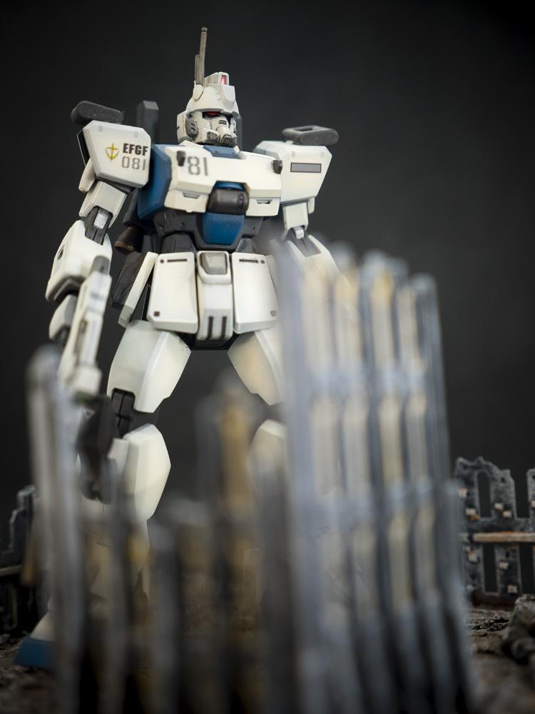 Bandai 1/144 HG RX-79[G] Ez-8 Gundam Ez8