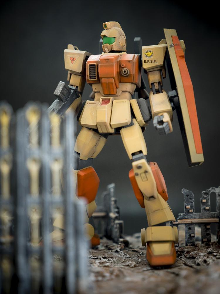 Bandai 1/144 HG RGM-79[G] GM Ground Type