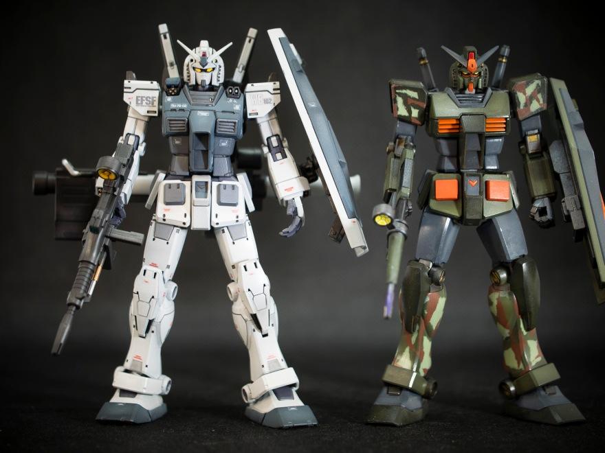 Bandai 1/144 HG RX-78-2 Gundam (The Origin ver.)