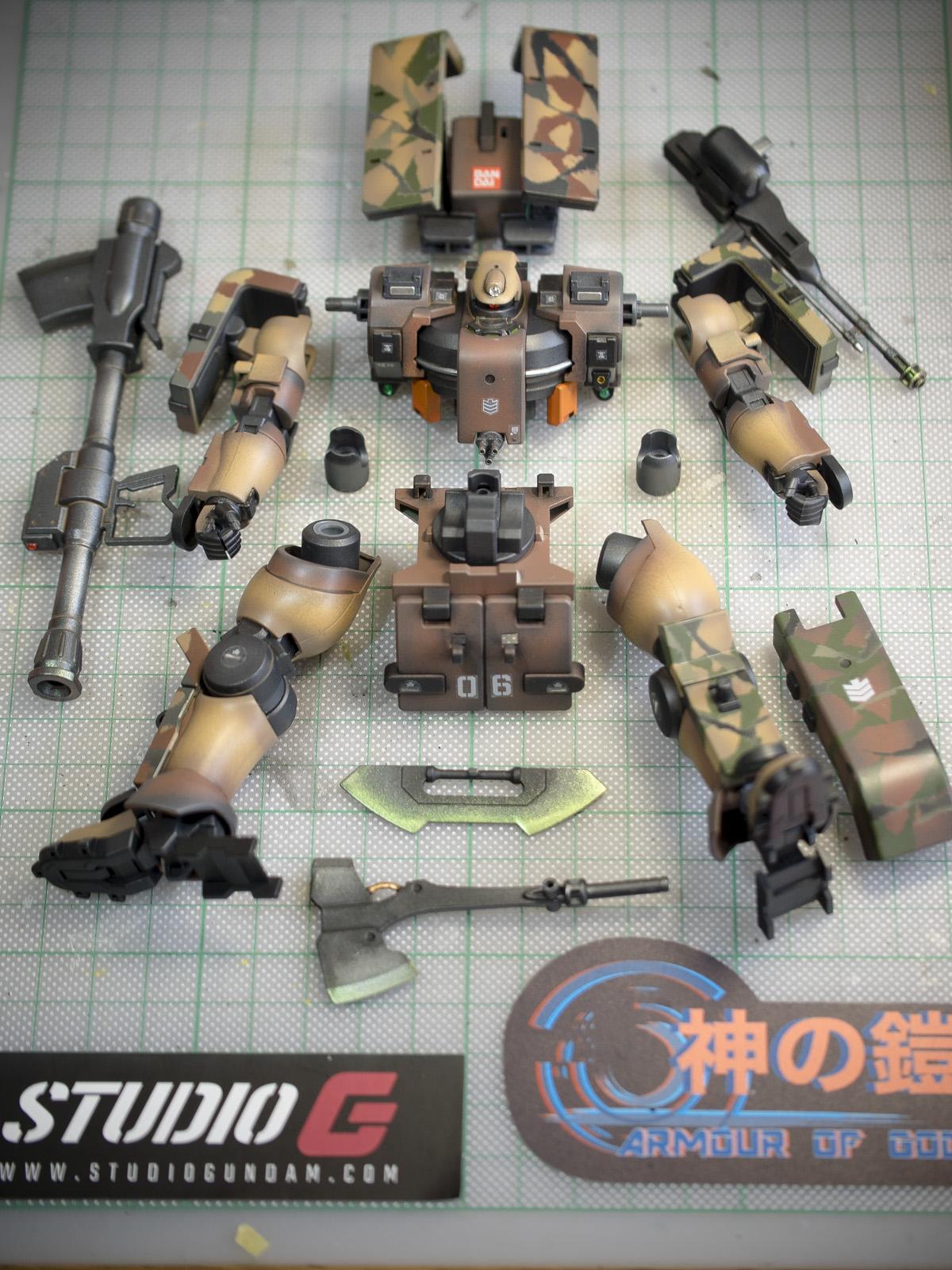 Bandai 1/144 HG MSJ-06II-A Tieren Ground Type
