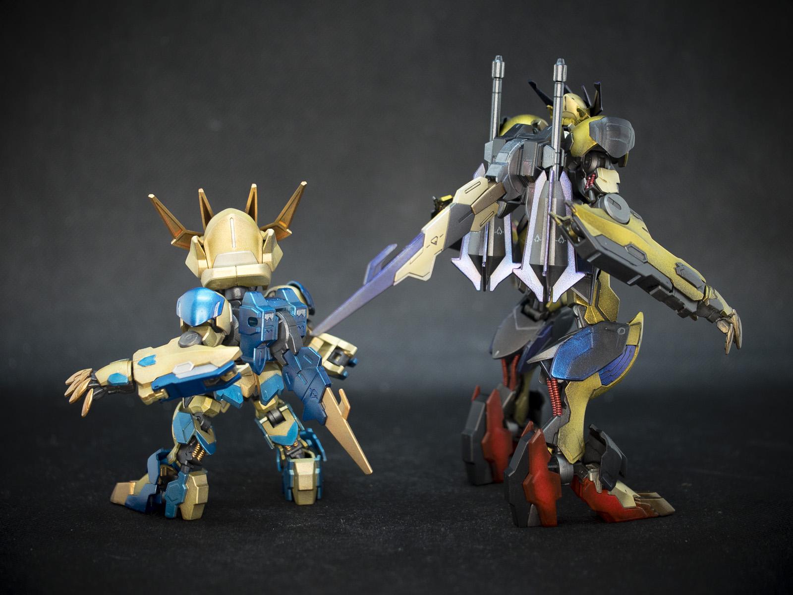 Bandai 1/144 HG IBO ASW-G-08 Gundam Barbatos Lupus Rex