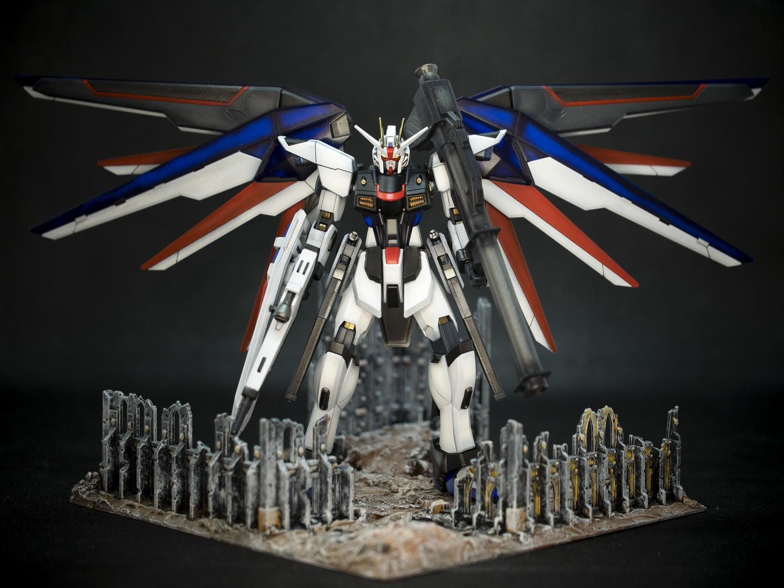Bandai 1/144 HGCE ZGMF-X10A Freedom Gundam