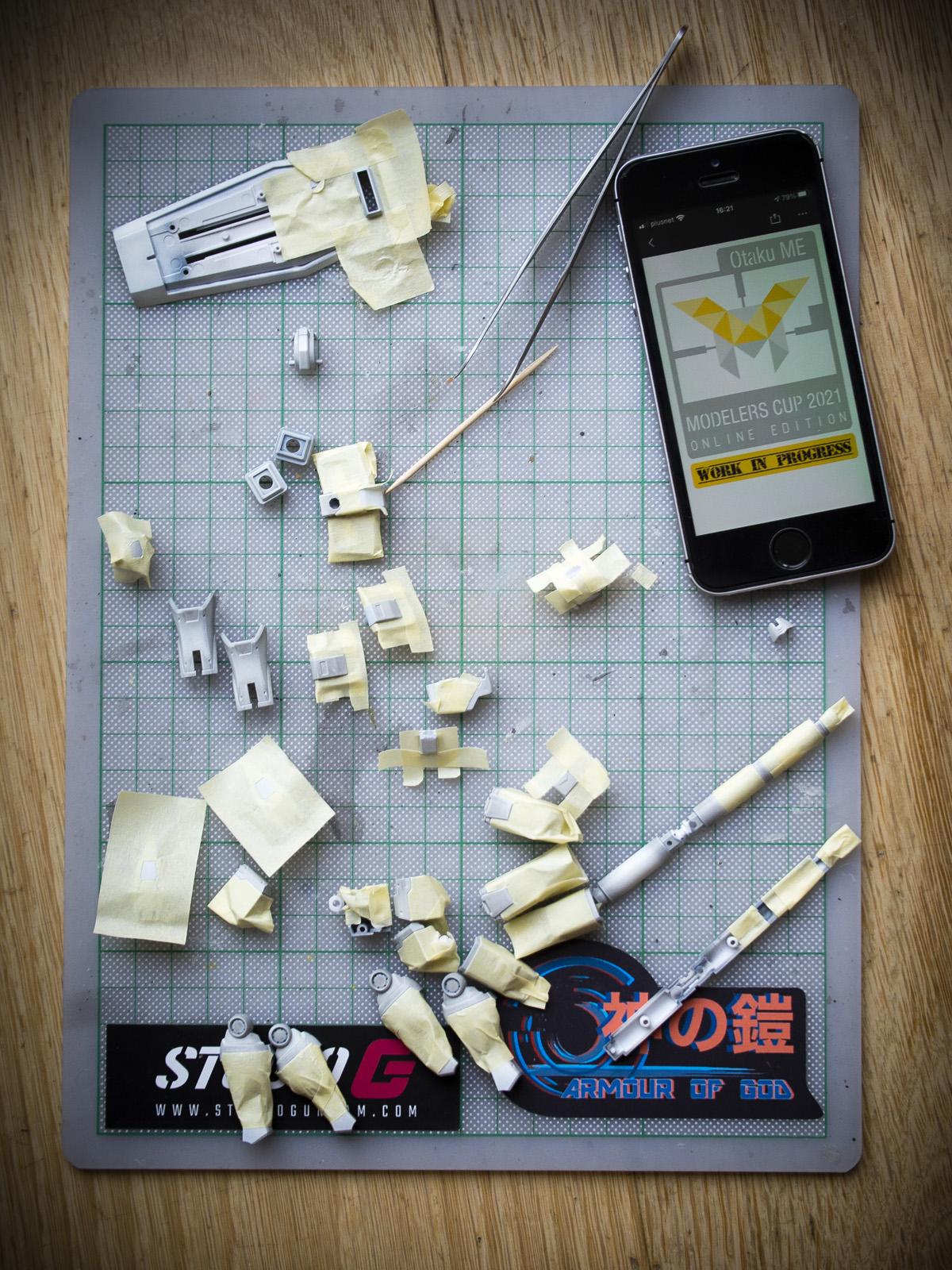 Bandai 1/144 HG RX-78-02 Gundam [EFF Prototype Origin Ver]
