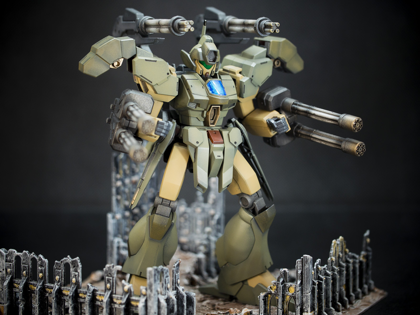 Bandai 1/144 HG Jegan Blast Master (Yukki's Mobile Suit)