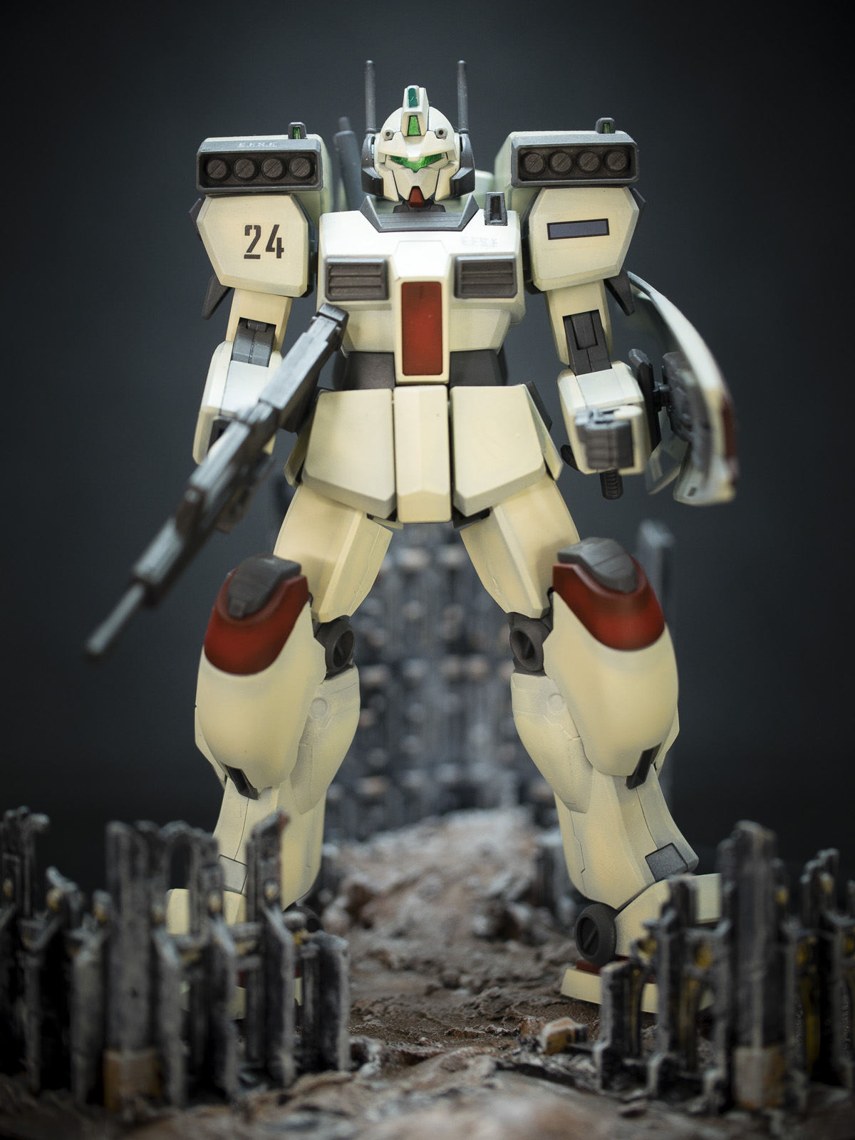 Bandai 1/144 HG GM3 Beam Master [Yukki's Mobile Suit]