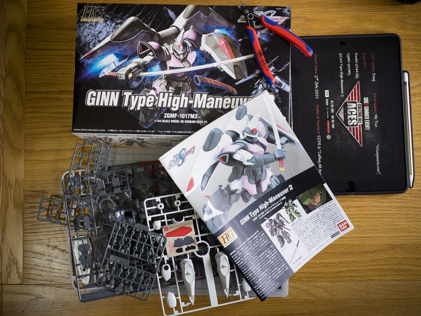 Bandai 1/144 HG ZGMF-1017M2 GINN Type High-Maneuver 2